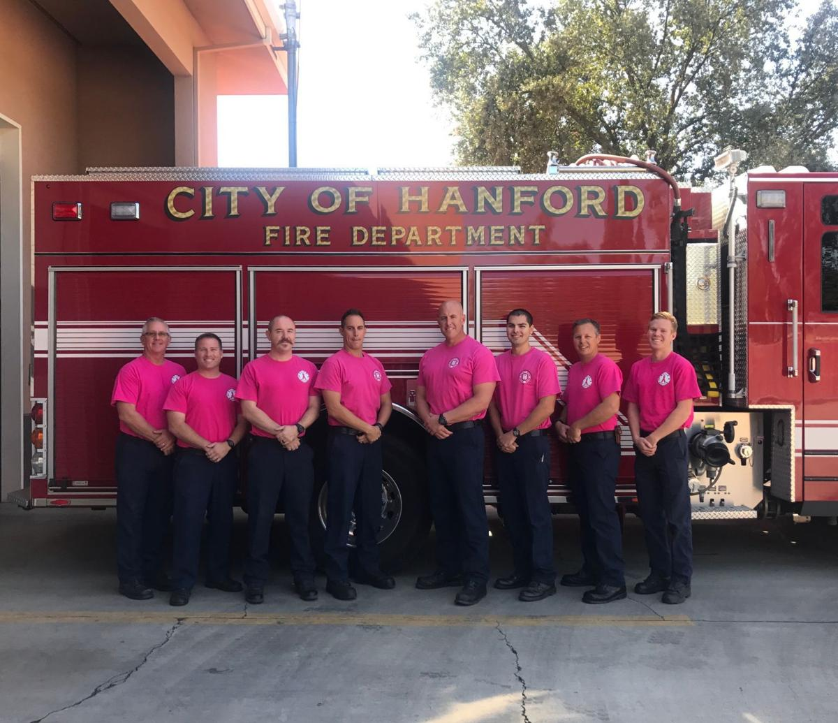 Local officers support breast cancer awareness month