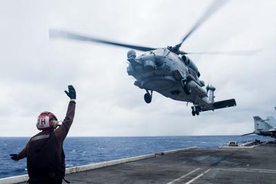 Ronald Reagan Resumes Flight Operations Following Helicopter Crash