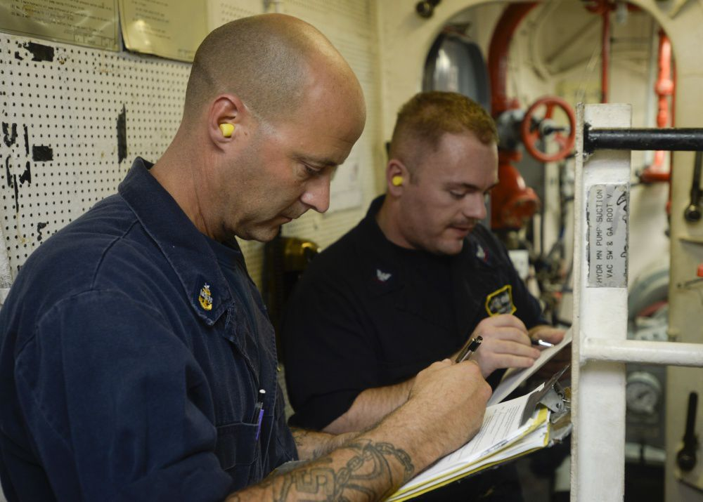 Nimitz passes maintenance inspection with flying colors