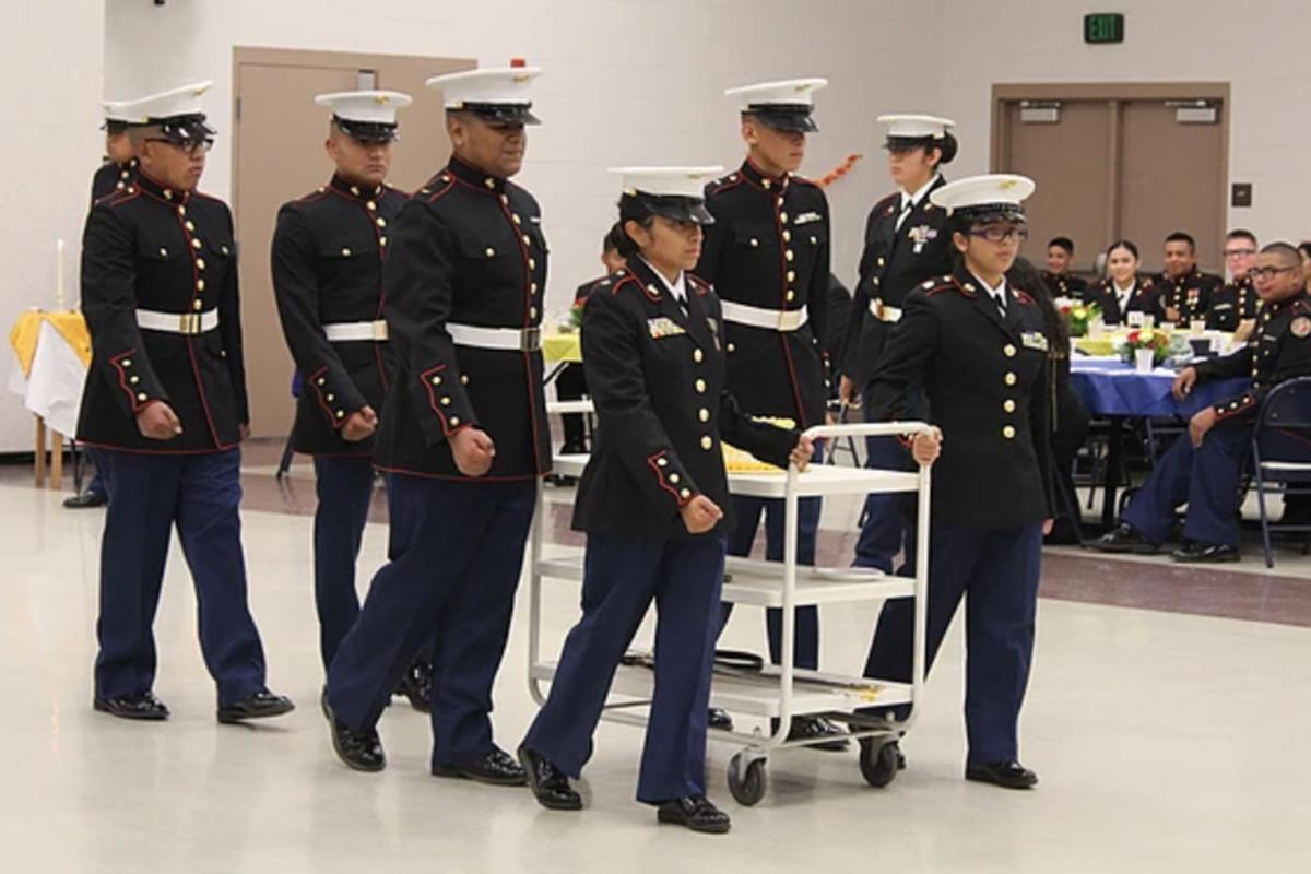 ROTC: Ball honors Marines' tradition