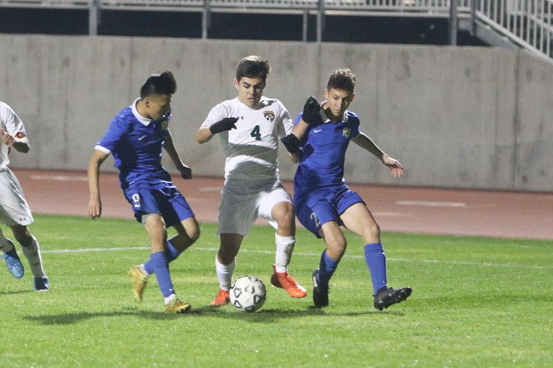 Kingsburg soccer: Ivan Delgado