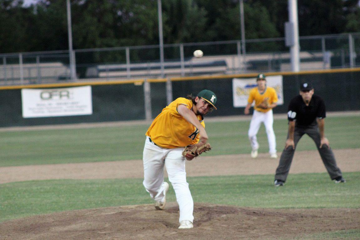 Kingsburg baseball: Riley Walls