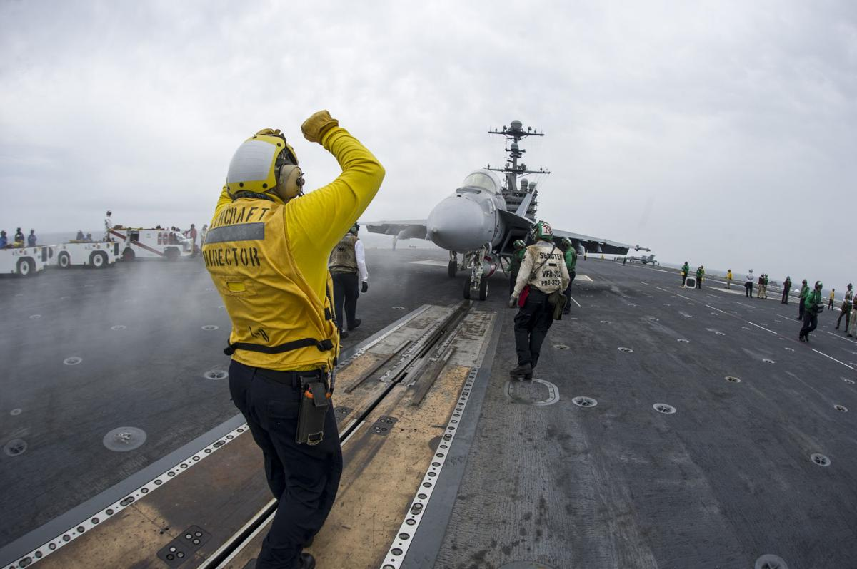 Carrier Air Wing 5, George Washington completes carrier qualifications