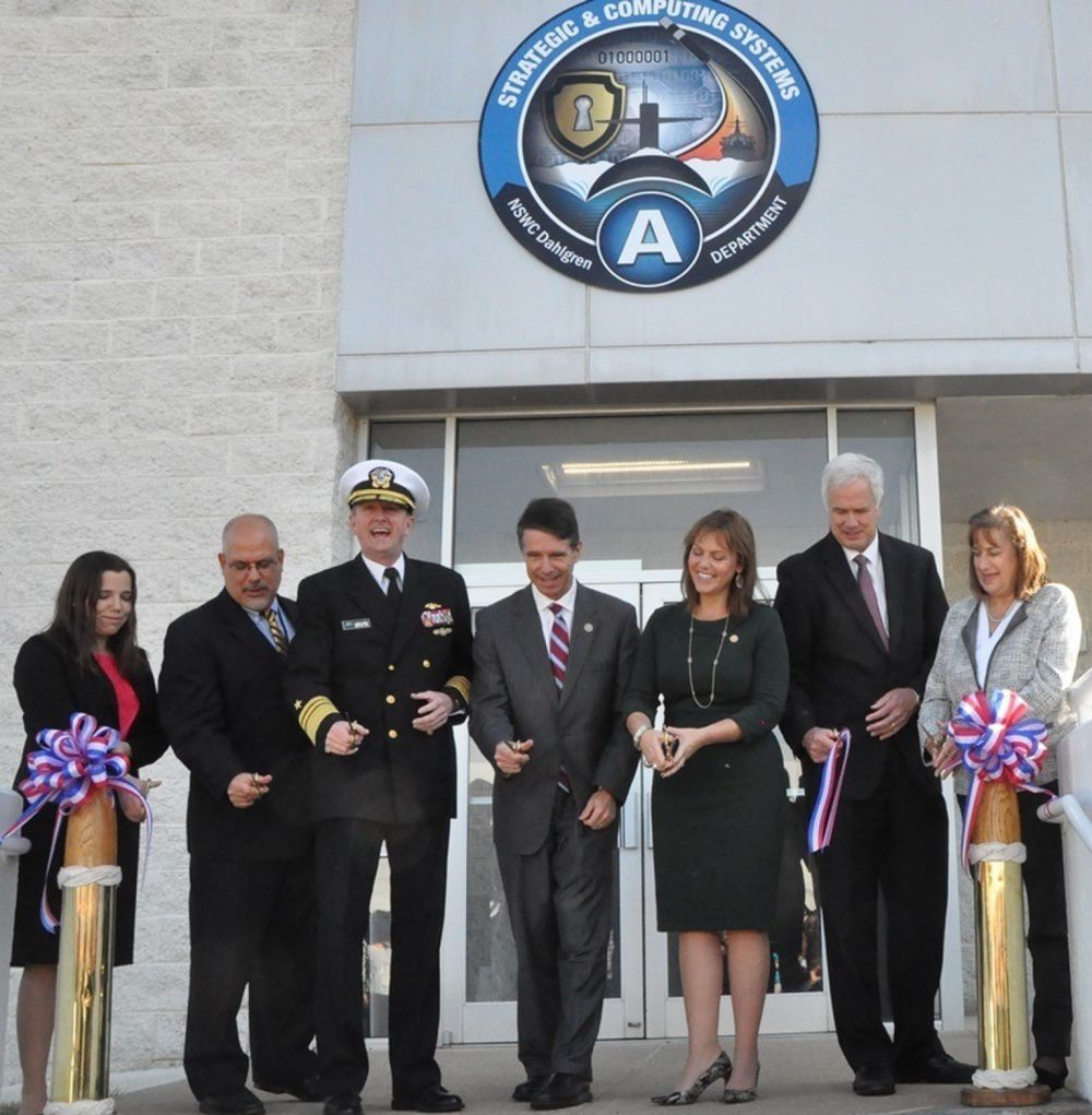 Navy Leaders, Local Officials Dedicate New SLBM Facility - State of the Art Capabilities for Current and Future Missile Systems