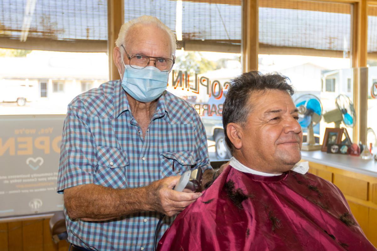 Local barber reaches 65th anniversary at Coplin's Barber Shop