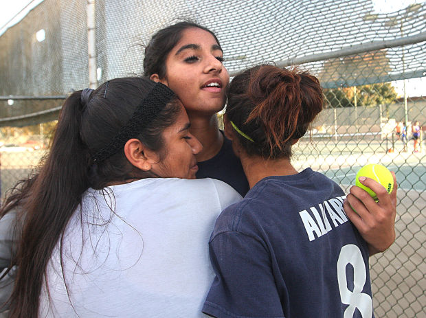 Corcoran wins Valley tennis for first time