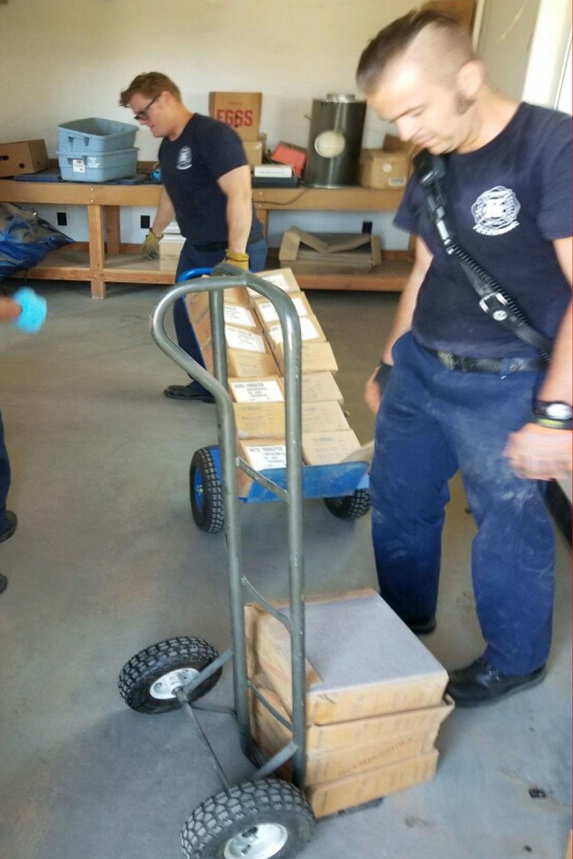 Kingsburg Fire Station: Clean up