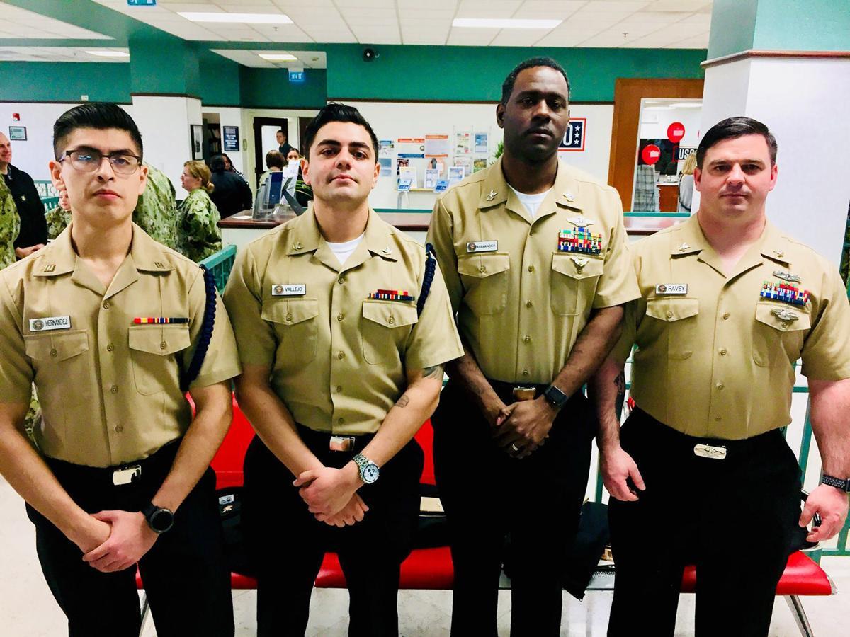 Hospital Corpsman Edgar J. Hernandez