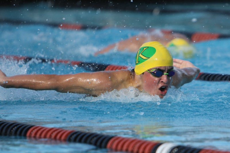 Kingsburg swimming: Jake Goodbar