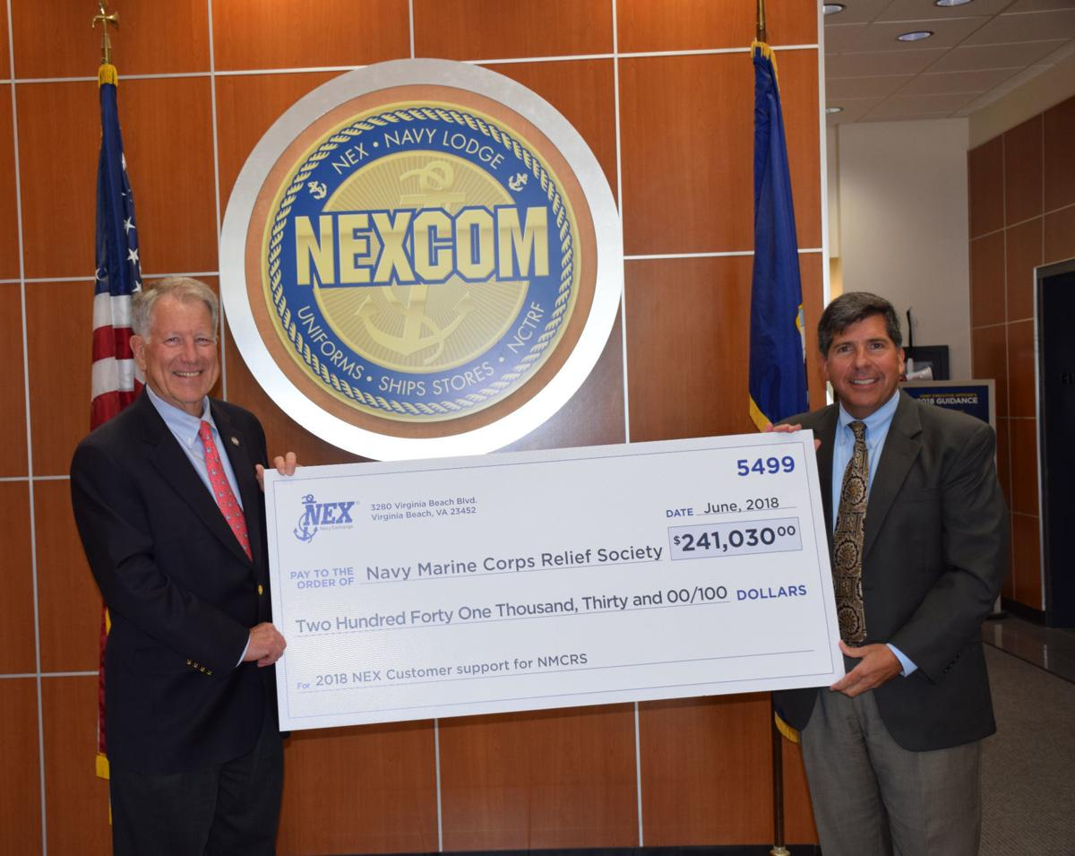 NEX customers support Navy-Marine Corps Relief Society