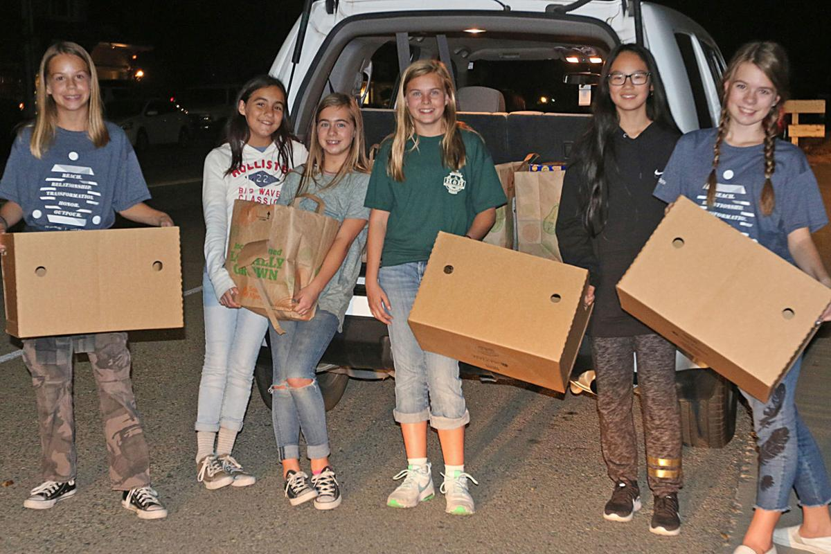 KCAPS food drive: Runners