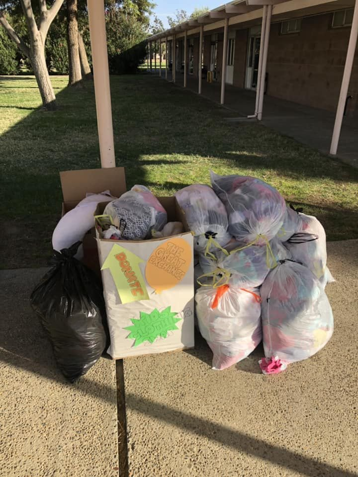 'Great Exchange:' Base chapel hosts clothing drive
