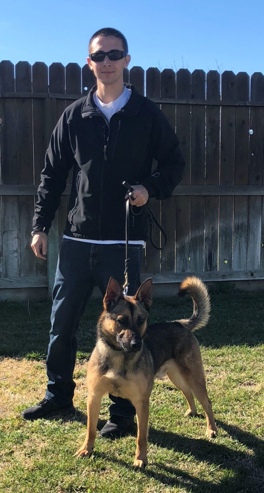 Officer Medeiros and Nico