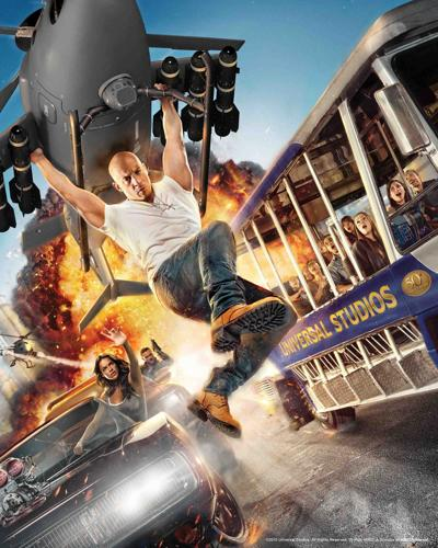 What a ride: Universal Studios gets Fast and Furious