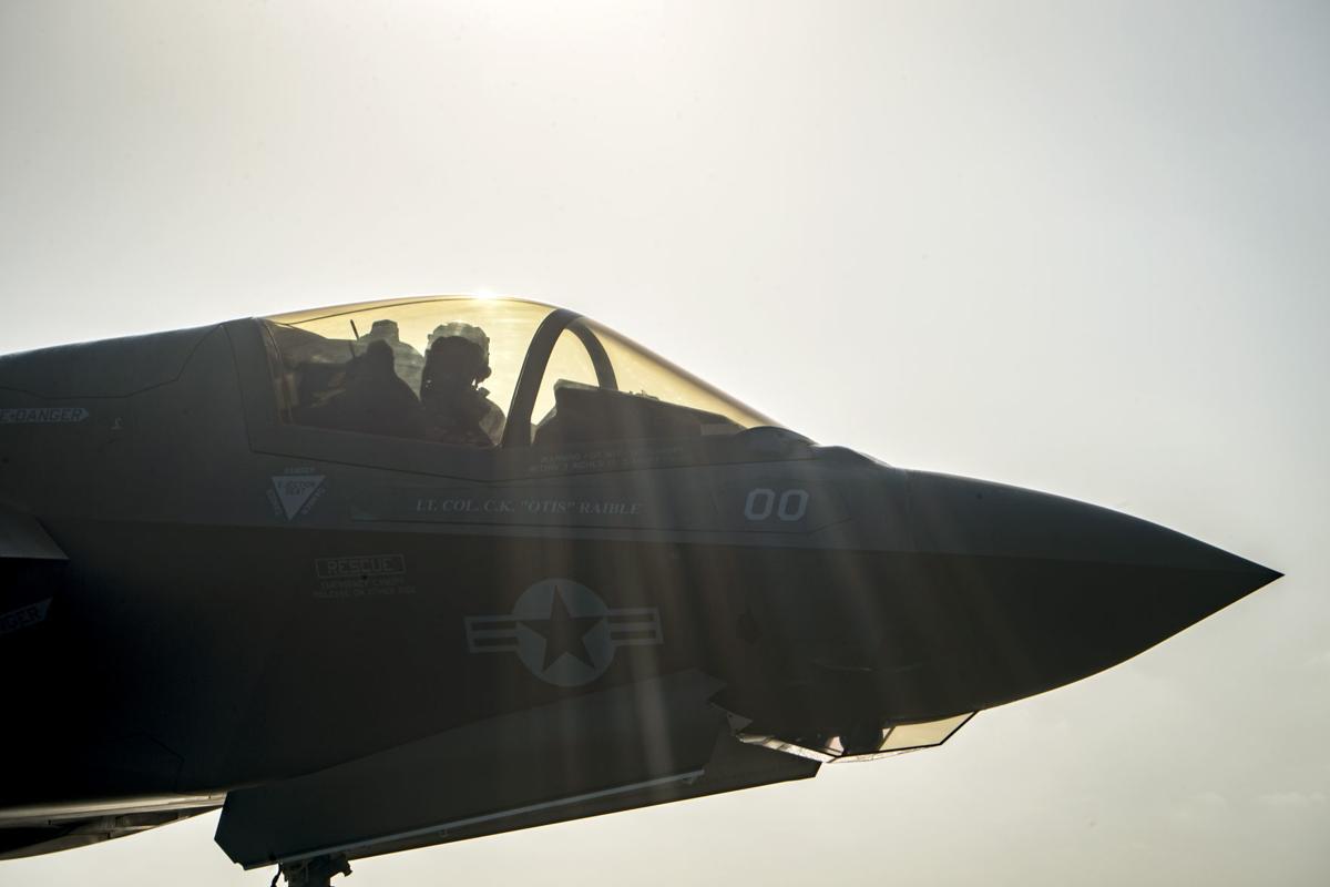 USMC F-35B conducts first combat strike in CENTCOM AOR
