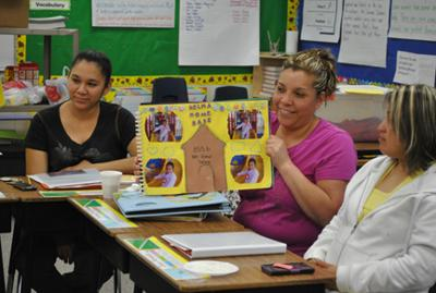 Parents are learners in Selma school project