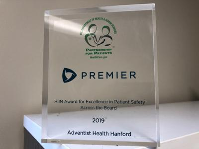 Adventist Health Hanford awarded for Excellence in Patient Safety