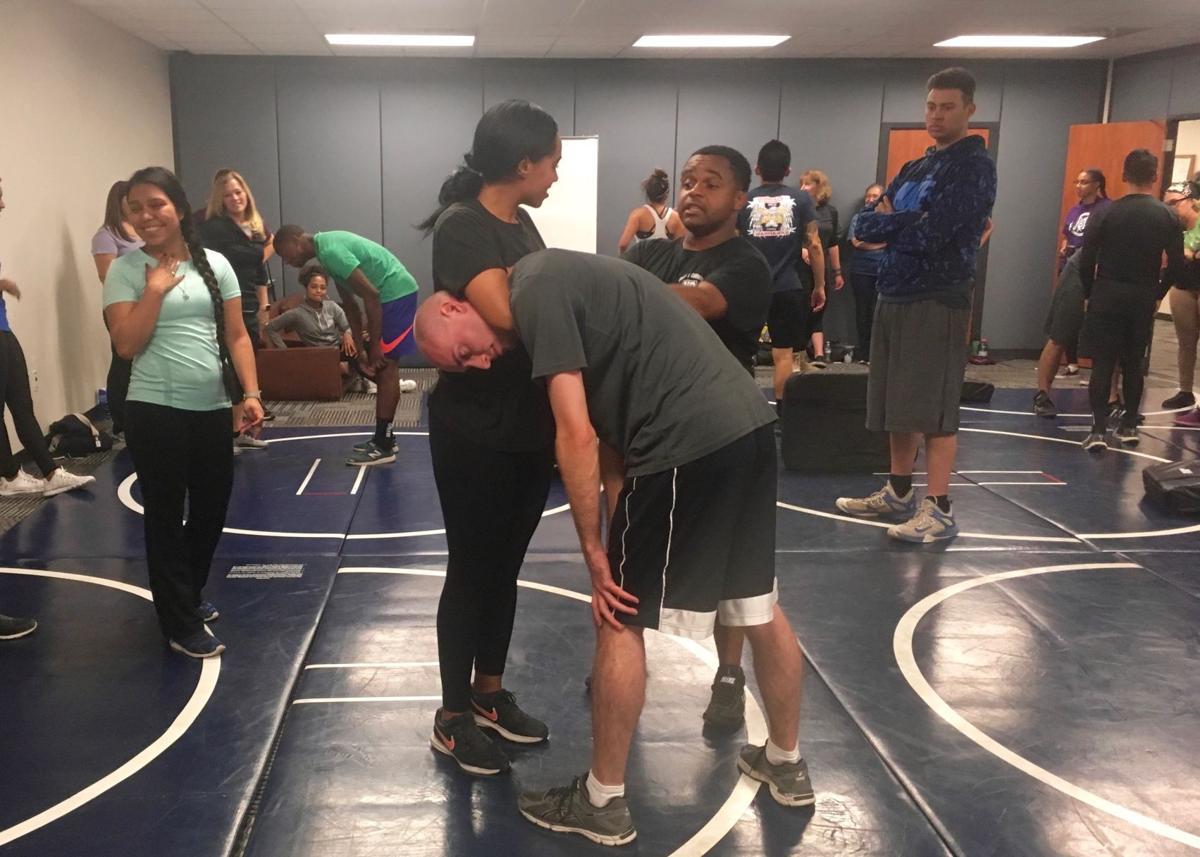 FFSC, base gym offer free women's self defense workshop