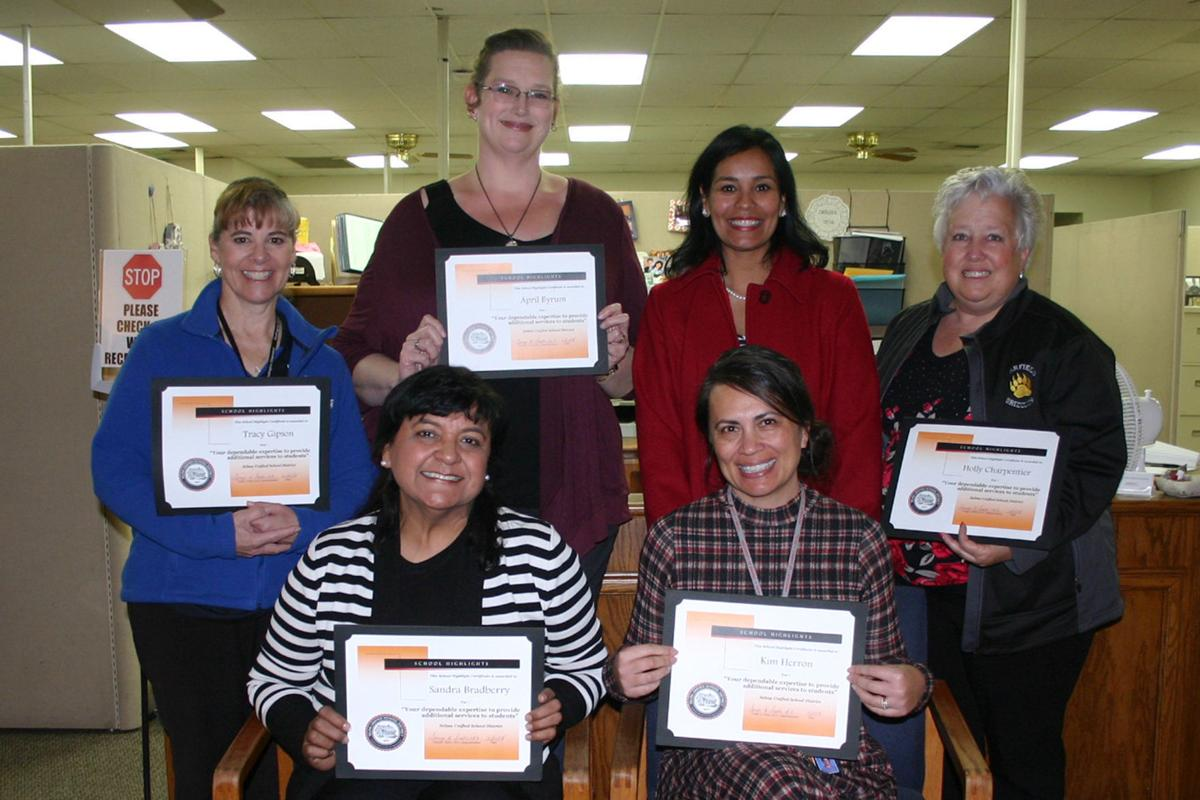 Support staff: Recognized at SUSD meeting