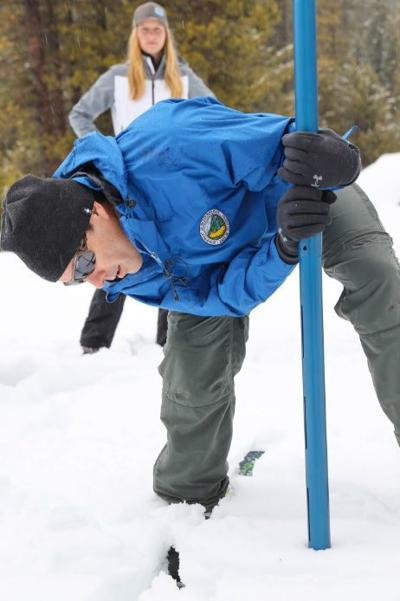 April snow survey