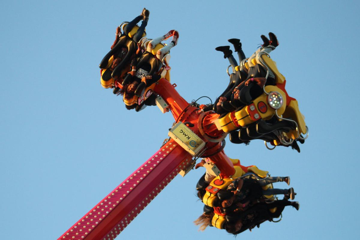 Tuesday events: Carnival rides