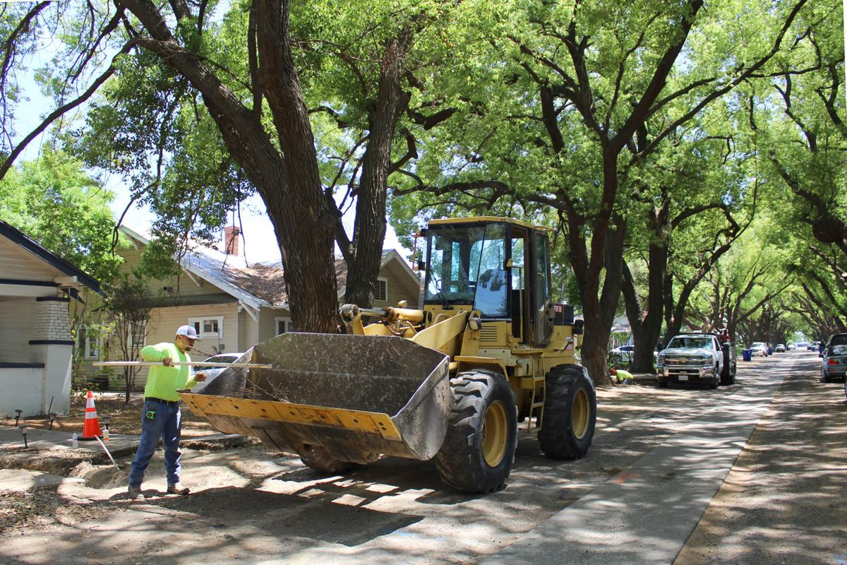 Shady Lane: Readying to excavate