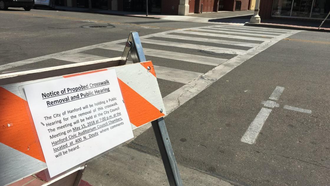 Downtown crosswalks spark debate | Local | hanfordsentinel com
