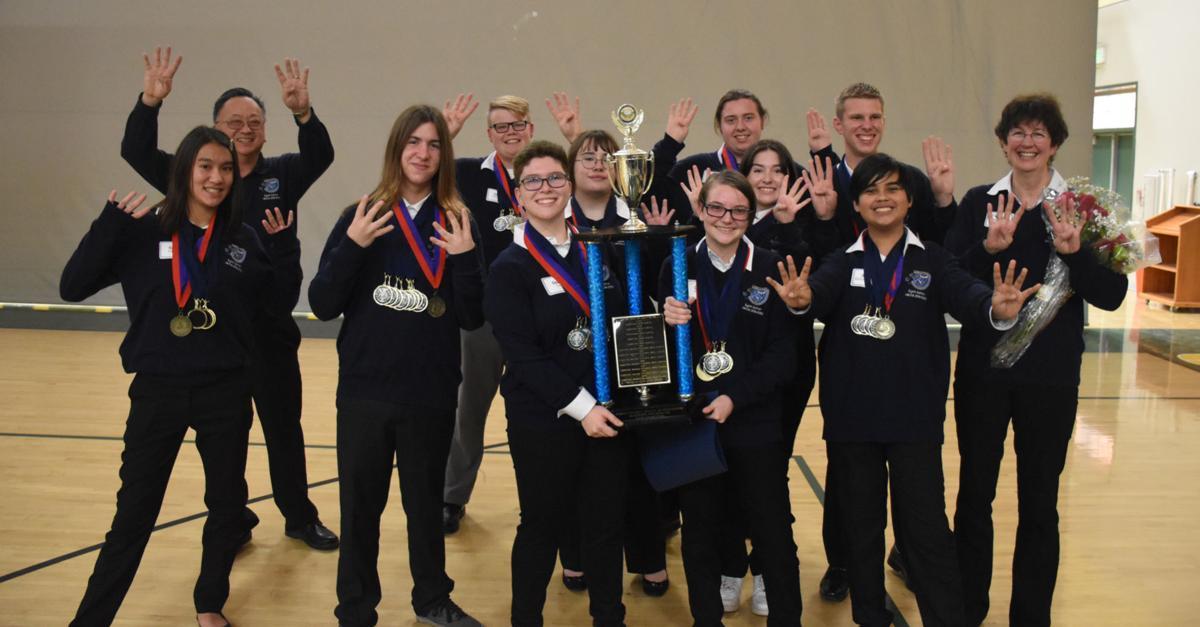 LMCHS academic decathlon win