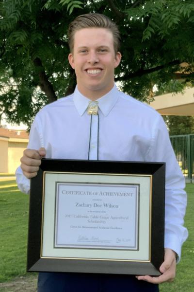 Kingsburg student: Zachary Wilson