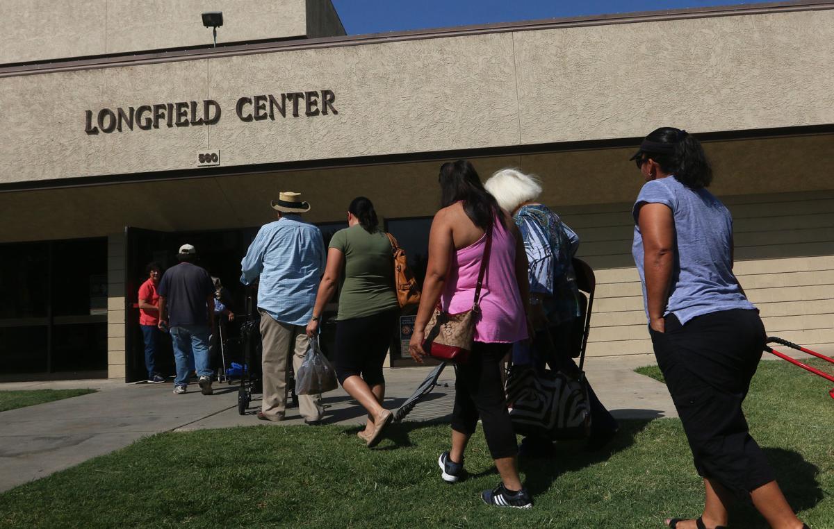 Community Food Bank Volunteers Fresno