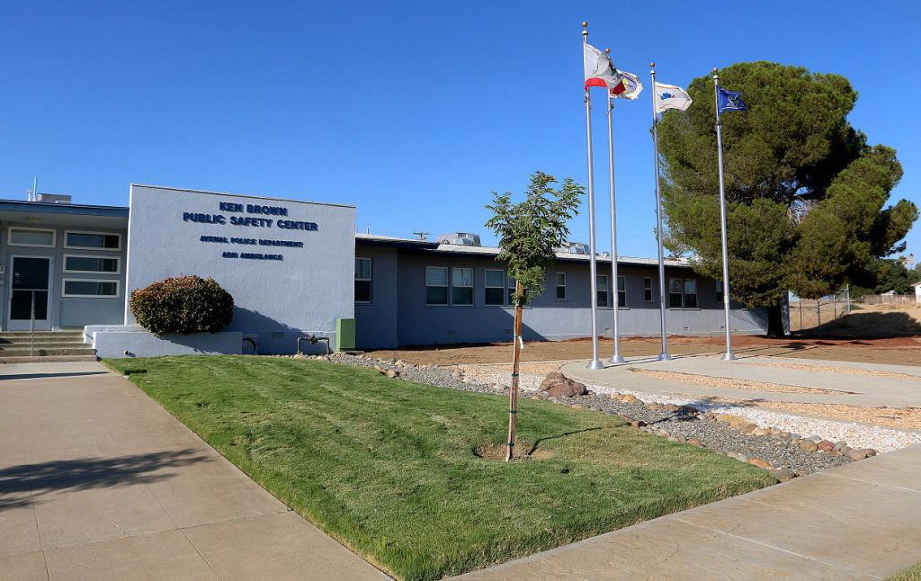Avenal police station