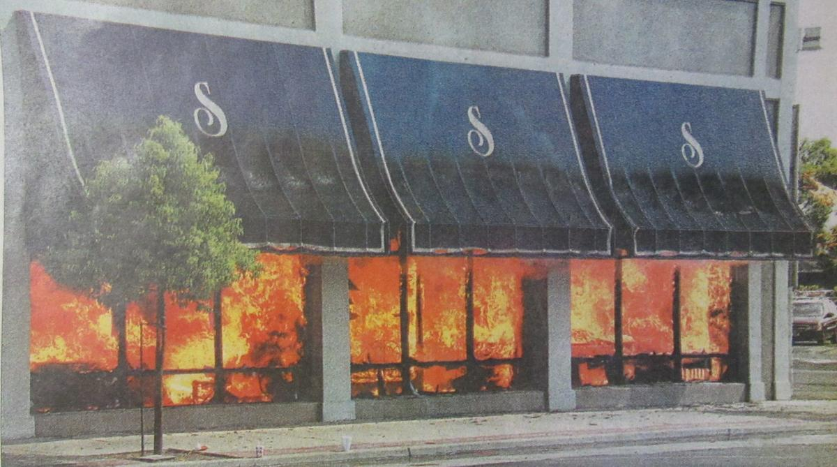 Salmon's fire