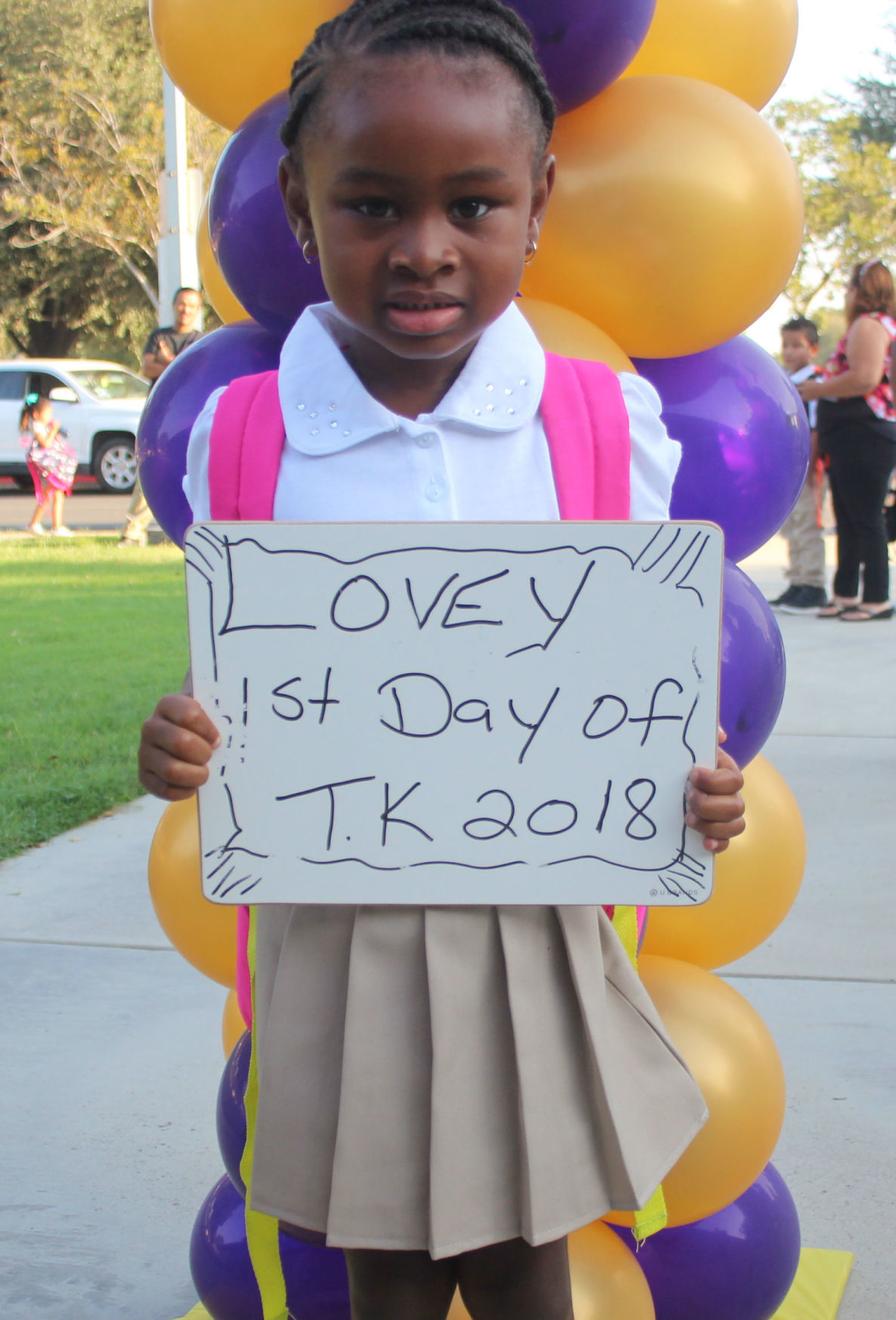 First Day - Lemoore Elementary School