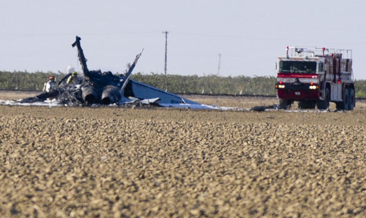 F/A-18E Super Hornet crashes west of Lemoore | Local