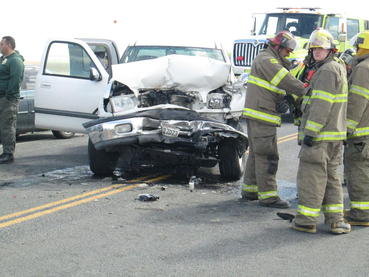 Ten injured in crash south of NAS Lemoore | Crime
