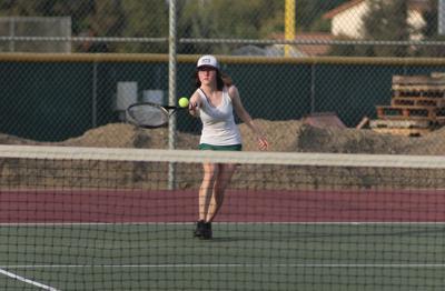 Kingsburg girls tennis: Rylie Cornett
