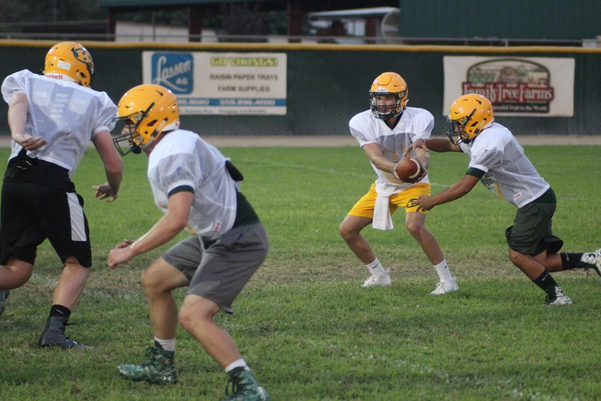 Kingsburg football practice