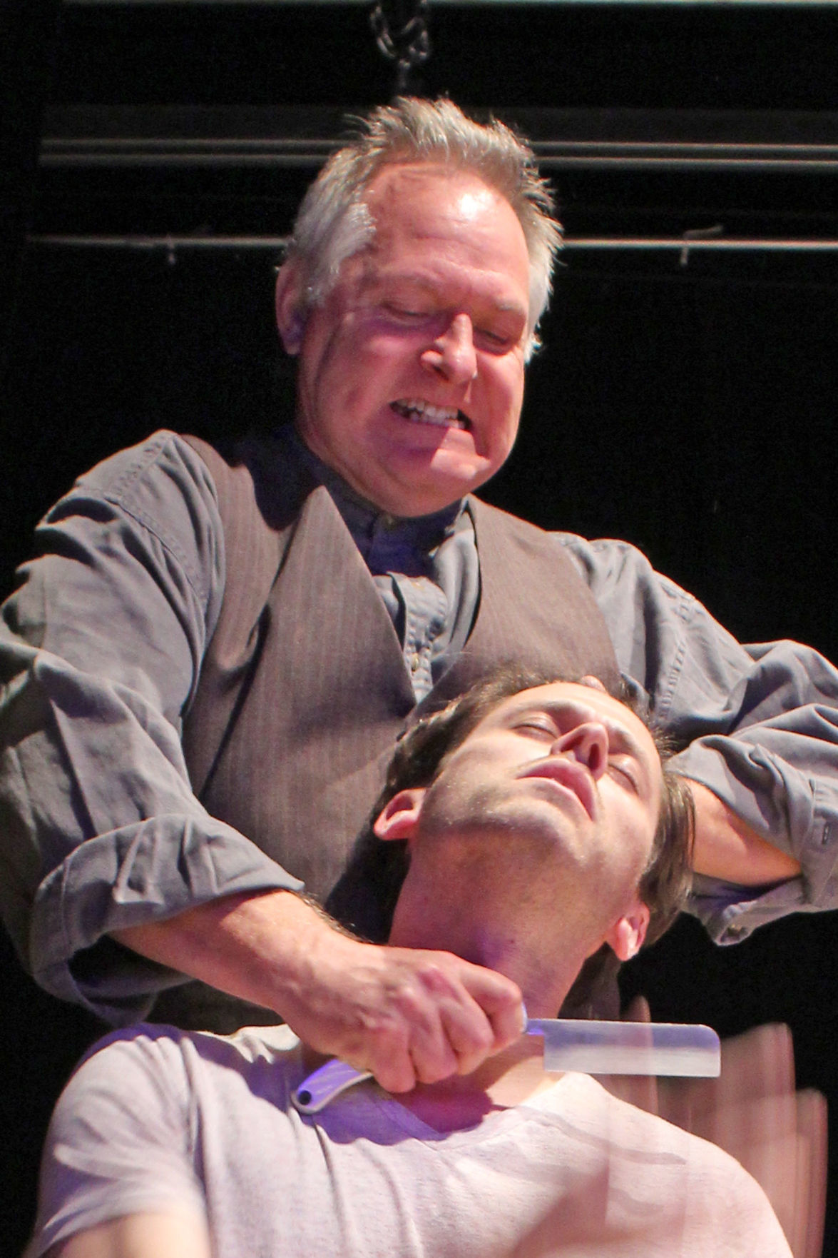 Unconventional: Chris Carsten as Sweeney Todd