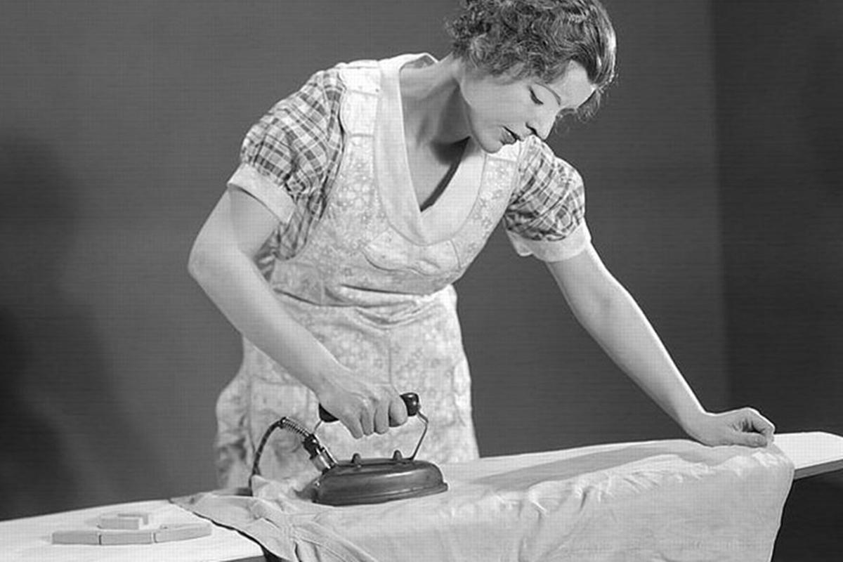 Remember When: Ironing