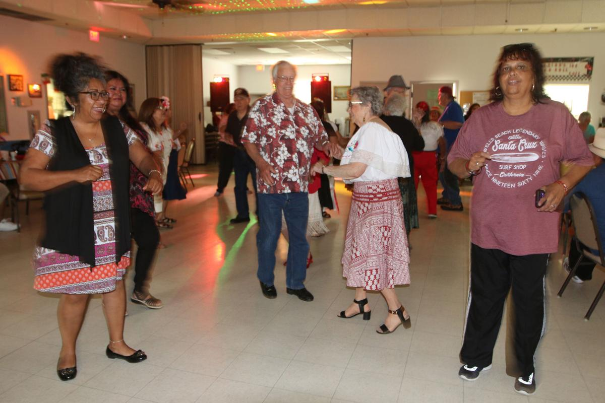 Cinco: Dancing at the Senior Center