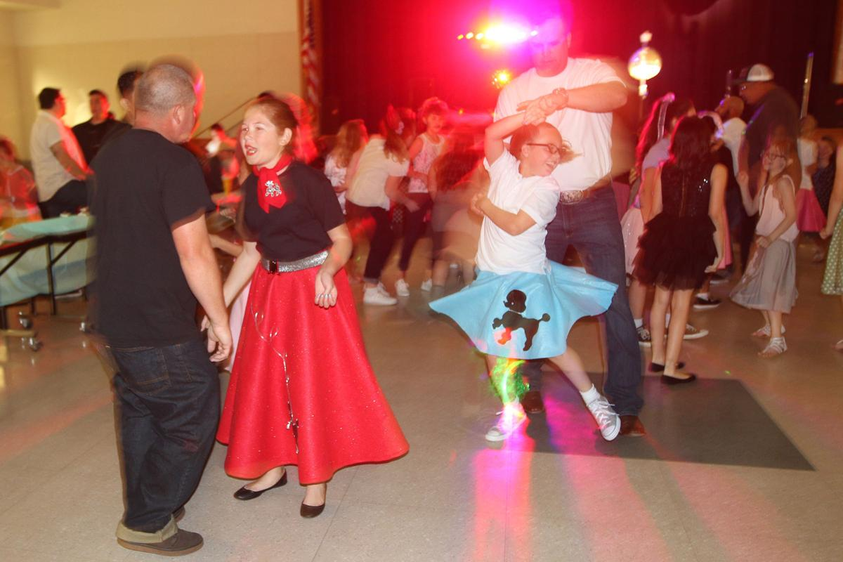 Sock hop: Jerod and Lily