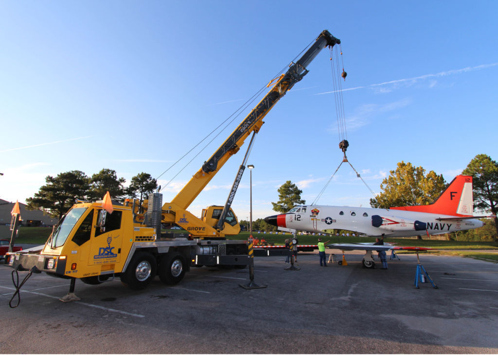 Retired Navy T-39 training jet continues service
