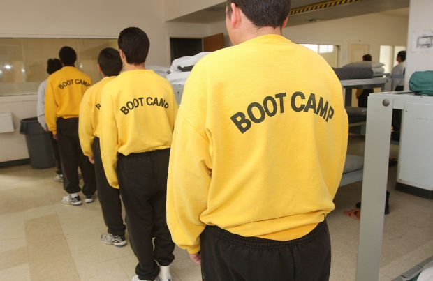 what are boot camps for juveniles