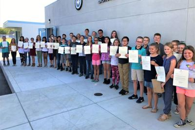 Kingsburg students: Perfect scores