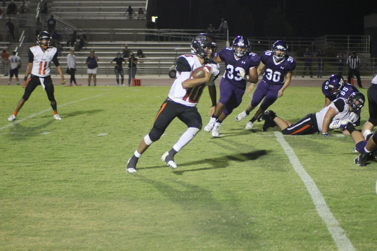 Selma football: Aaron Blancas