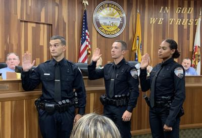 HPD new officers