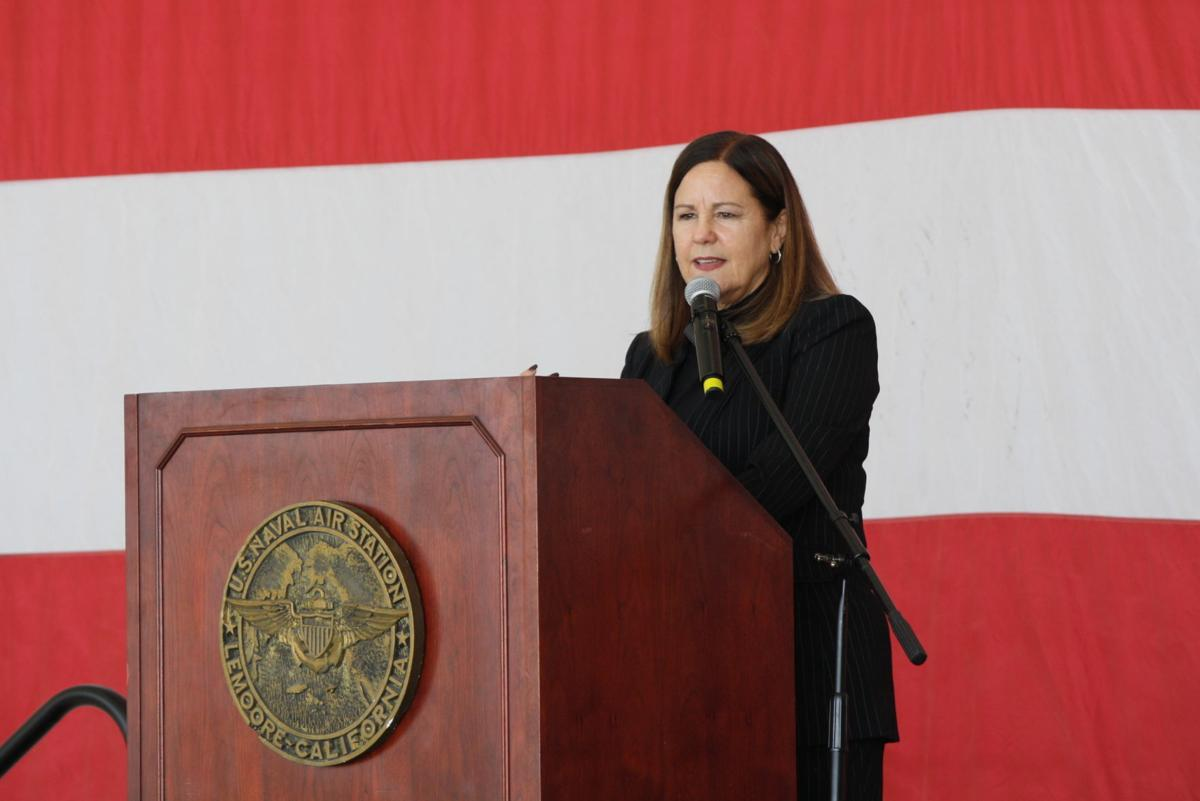 Second Lady Karen Pence honors military spouses at NASL