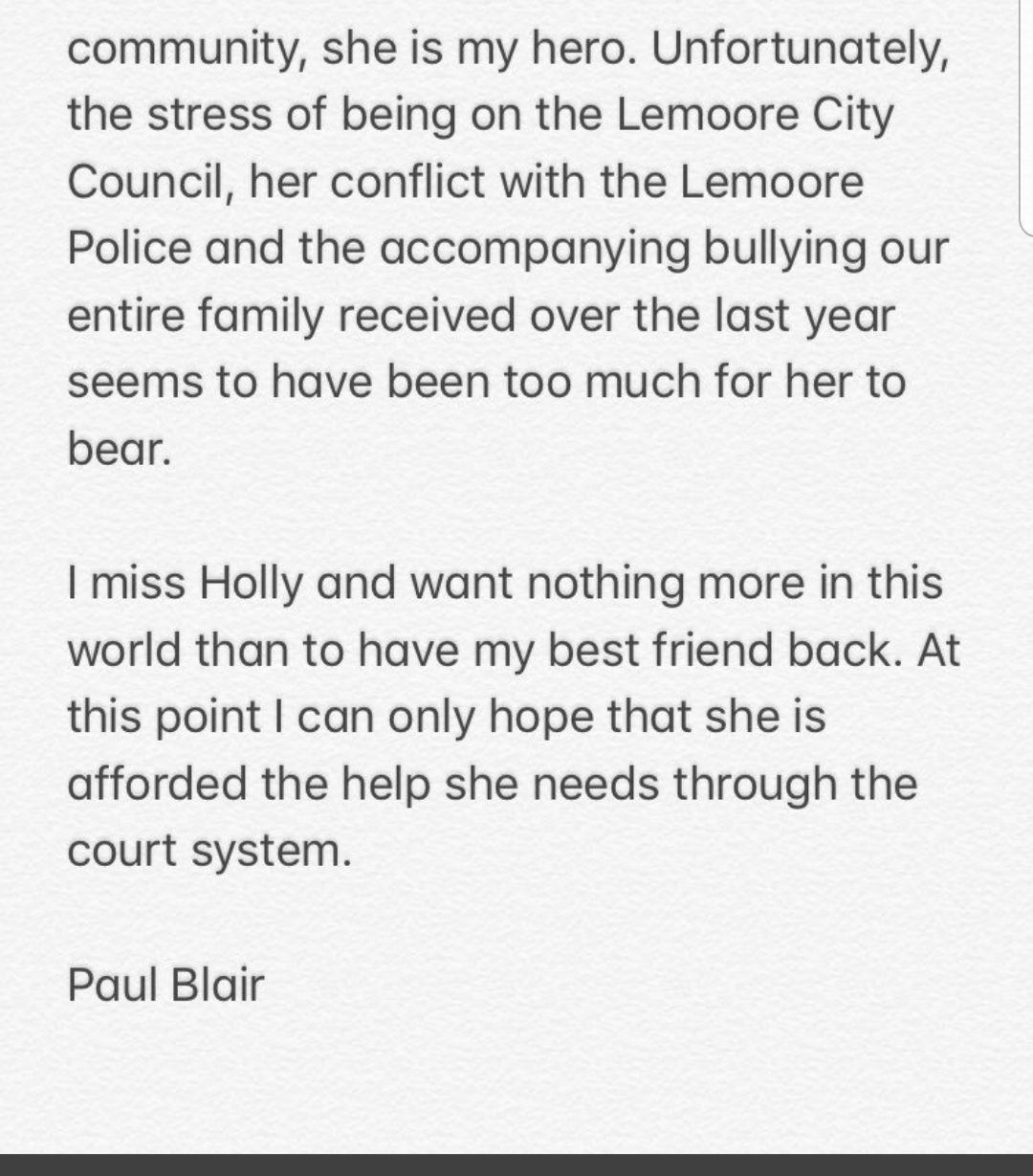 Paul Blair Comment 2