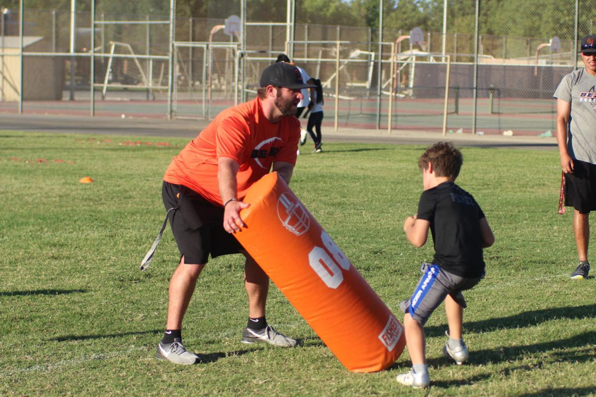 Selma High hosts youth football camp | Selma Enterprise
