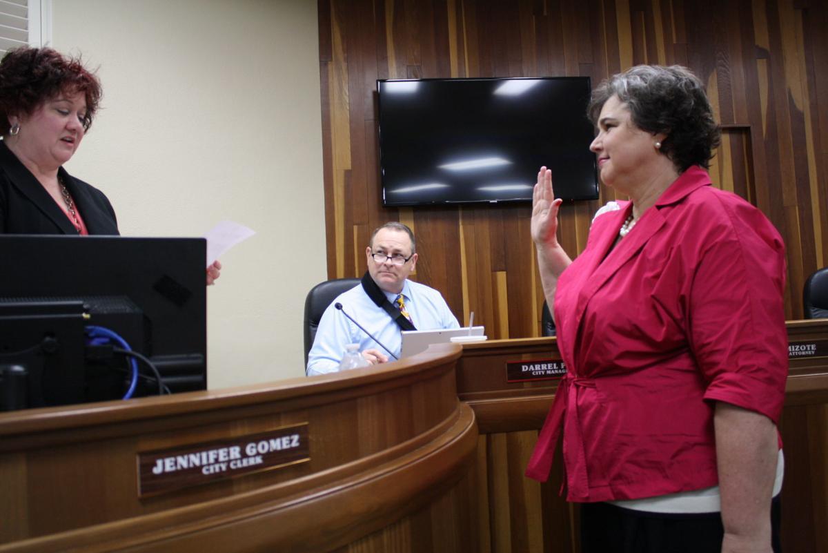 Diane Sharp oath